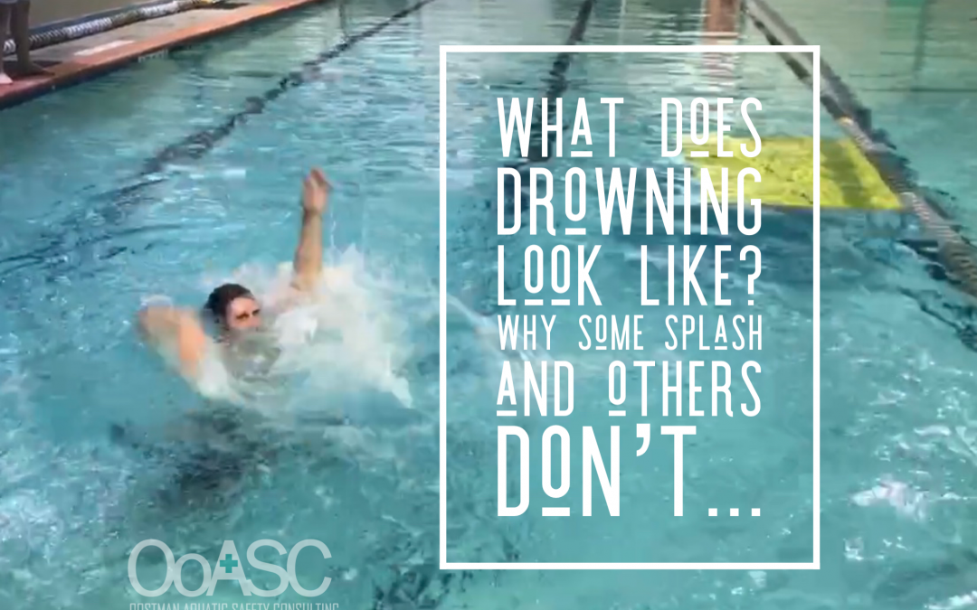 What Does Drowning Look Like: Why Do Some People Splash and Others Don't?